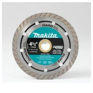 Makita A 94596 4 1 2 Diamond Blade Turbo Hard Material