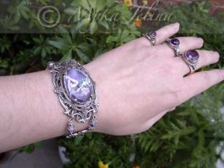 Gothic Angel Fairy Art Bracelet Fae Jewelry Malory