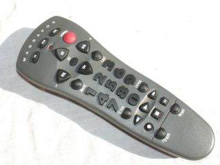 Magnavox 3 Device TV VCR Cable Universal Remote Control