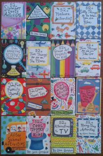 Family Kids Childrens Activity Activities Cards by Lynn Gordon