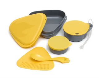 Light My Fire Outdoor Camping Meal Mess Kit Yellow
