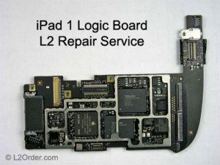 Apple iPad 1 A1219 A1337 Logic Board Repair Service