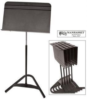 Manhasset Harmony Auto Adjustable Black Sheet Music Stand