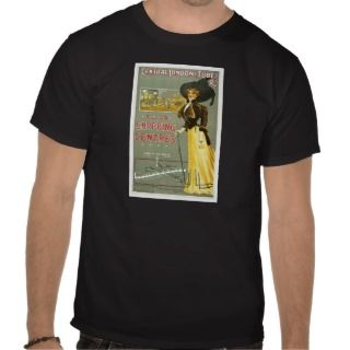 Vintage Central London (TUBE) RLY Poster Art Tshirt