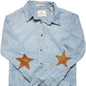 Maison Scotch Soda L s Denim Jean Chambray Long Shirt Dress Jumper