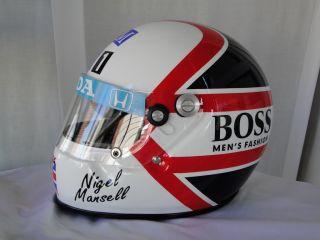Nigel Mansell 1986 F1 Replica Helmet Full Size Helm