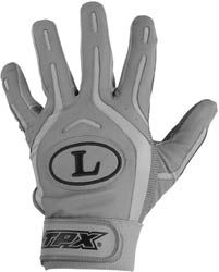 Louisville BG26 Pro Design Adult Batting Gloves Grey XL