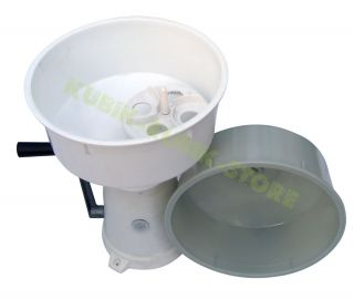 Dairy Cream Separator Manual Butter Churn 50L H New