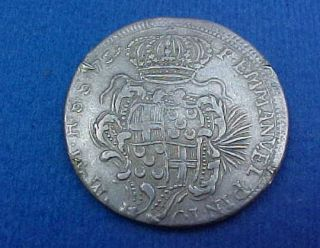 1759 Silver 15 Tari Grand Master Emmanvel Pinto Knights of Malta Order