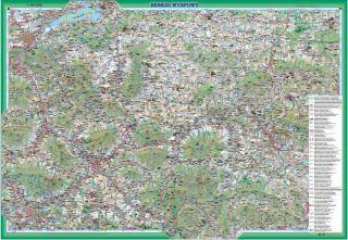 Beskid Wyspowy Mapa Turystyczna