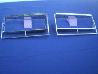 1982   1987 Chevrolet Malibu El Camino Headlight Bezels 1983 1984 1985