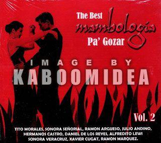 Mambologia PA Gozar 2 CD Salsa Guaguanco Sonora Veracruz Xavier Cugat