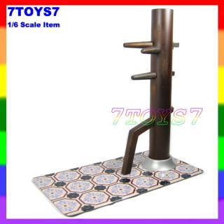 Enterbay 1 6 IP Man Wooden Dummy Metal Plate Now EB009G