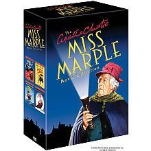 The Agatha Christie Miss Marple Movie Collection New 4 DVD Set 4 Films