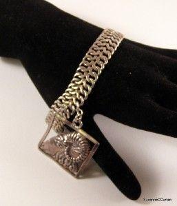 Margot de Taxco Sterling Zodiac Bracelet Aires Charm