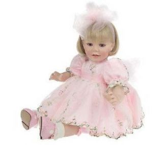 Marie Osmond Baby Peggy Porcelain Doll C3208 w COA