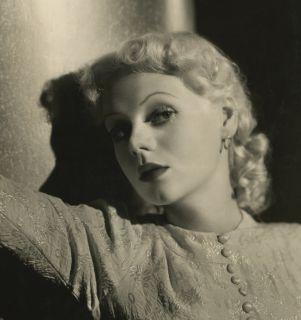 Vintage 1930s Marie Wilson Photograph Art Deco Glamour Portrait Scotty