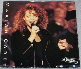 Mariah Carey Unplugged 3 Used Laserdisc