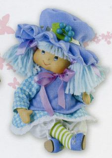 Marie Osmond Doll Blueberry Muffin Tiny Tot 5