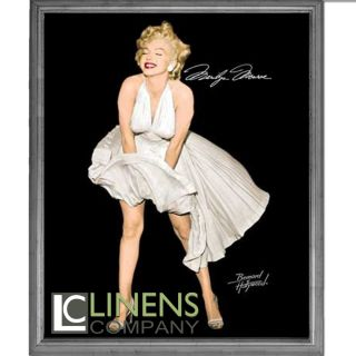 Signature Collection Marilyn Monroe Seven Year Itch Plush Mink Blanket