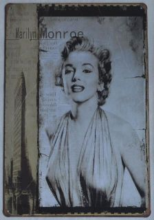 Brand New 8x12 Forever Marilyn Monroe Wall Decor Retro Sign Tin Sign