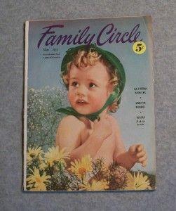Family Circle Marilyn Monroe Story Photos May 1953