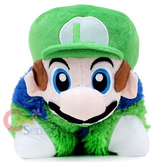 Super Mario Luigi Pillow Pad Pet Transforming Cushion