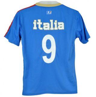 Italy Italia Flag Soccer Futbol Mario Balotelli FIFA Calcio Youth