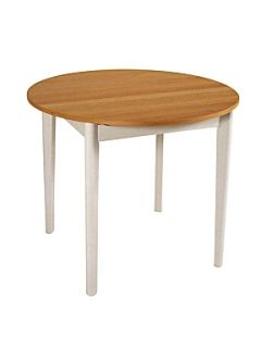 Linea Sicily extending oval kitchen table   House of Fraser