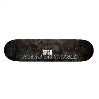 sfsk fallen angel tears dont fall deck skate boards