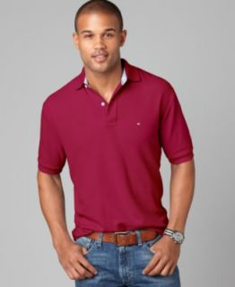 Tommy Hilfiger Shirt, Ivy Solid Polo   Mens Polos