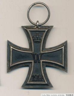 german medal IRON CROSS manufacturer mark EK2 from war 1914 / 1918 WW1