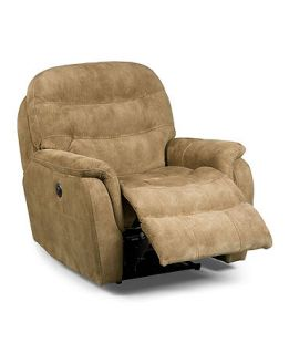 Rigby Fabric Power Recliner Chair, 36Wx 39D x 39H   furniture