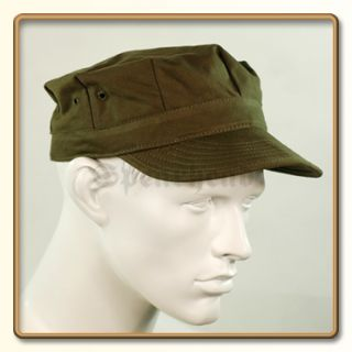 WW2 US Army Green HBT Utility Cap 57 61