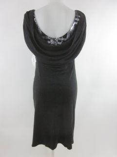 Mark James Badgley Mischka Gray Dress Sz L $330