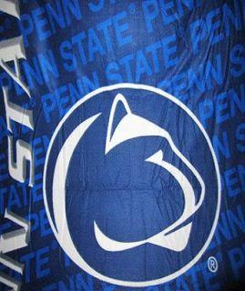 New Penn State PSU Lions Fleece Throw Blanket Football