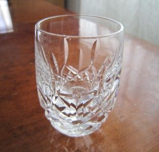 Mint Waterford Crystal Lismore Shot Glass 2 5 Signed Retail $100 Free
