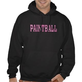 girls pink camo paintball hoodie