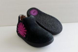 UGG Australia T Marlee Kid Toddler Children Black Bootie Shoe Boot