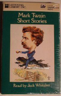 Mark Twain Short Stories Audio Book Jack Whitaker New