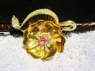 Day Night Flower Pin Phrygian Mark 1948 Nicest on Internet