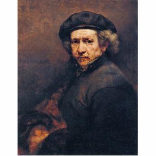 Self Portrait, By Rembrandt (Best Quality) Cut Out