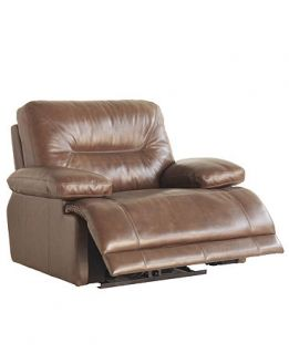 Leather Power Recliner Chair, 48W x 41D x 39H   furniture
