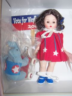 Madm Alexander Campaign Trail Maggie Wendy for President Set 2 w Toys