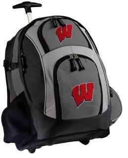 Universiy of Wisconsin Rolling Backpack Bes Wheeled Bags ravel