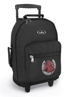Horses Rolling Backpack Bag Horse School Travel Bags