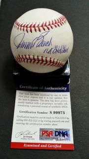 Johnny Bench 10x Gold Glove Signed Autographed Official MLB Baseball