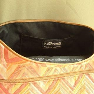 Maruca Handbag Purse Versatile Worker Bee Extra Large Maya Fabric