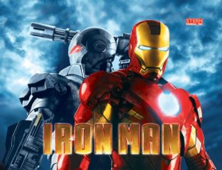 Iron Man Classic Pinball Machine by Stern New