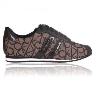 Scarpe Donna Sneaker Calvin Klein Tessuto Logato CK Luella Nuova